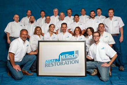 The Austin Hi-Tech Restoration Team